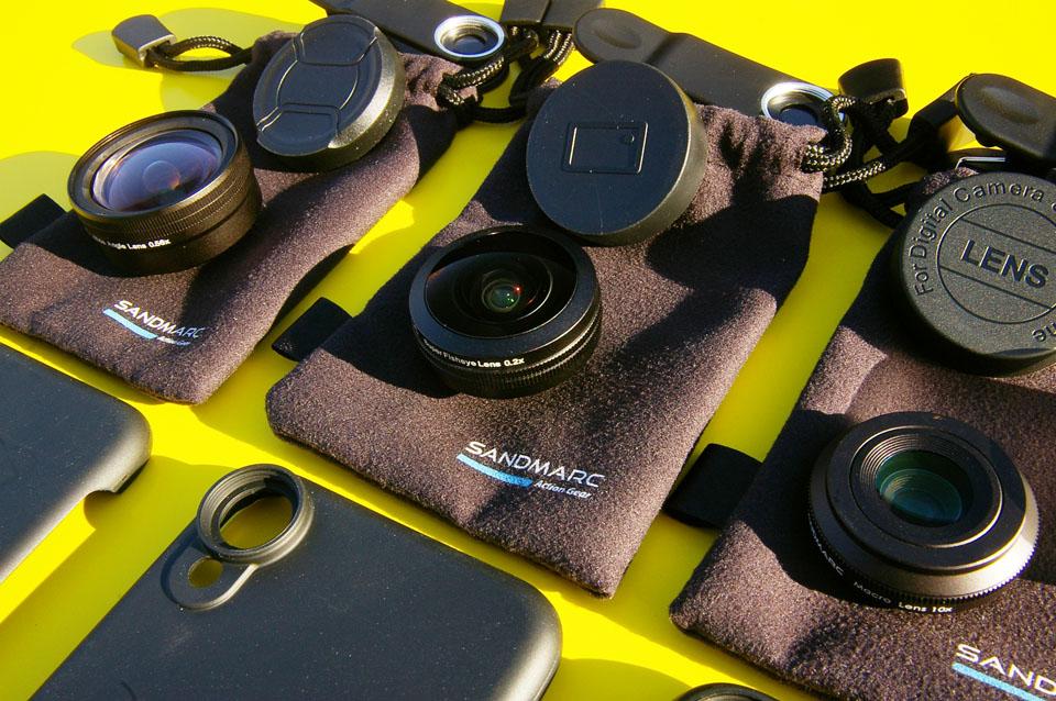 Rockpal | SANDMARC 專業手機外接超廣角鏡_魚眼鏡_微距鏡