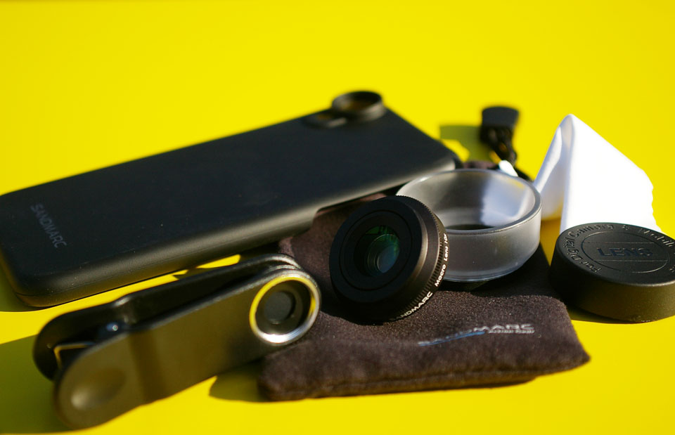 Rockpal | SANDMARC 10X 微距 HD 手機鏡頭產品及配件
